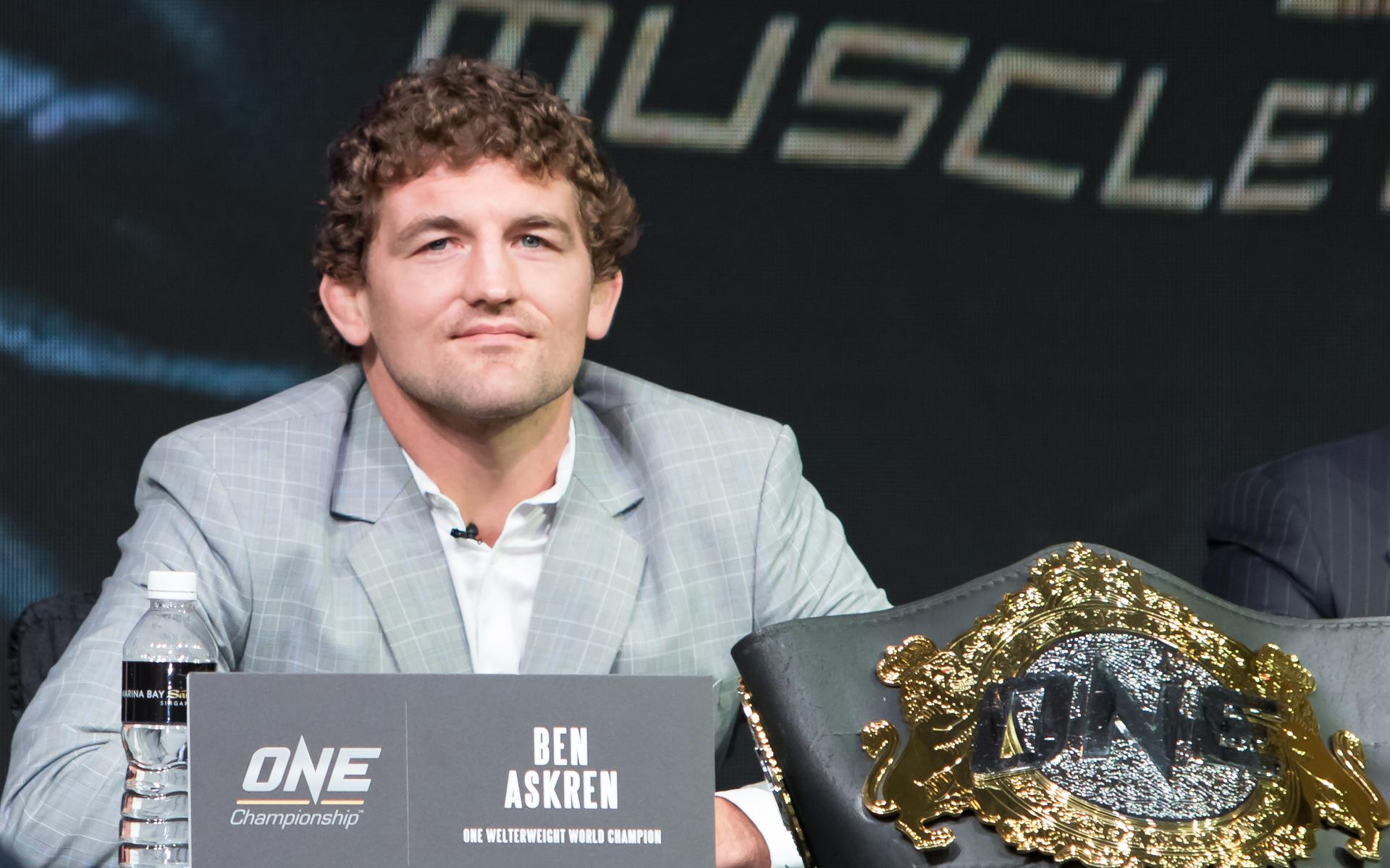 Ben Askren Bitcoin UFC