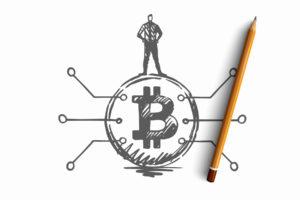 bitcoin network activity price
