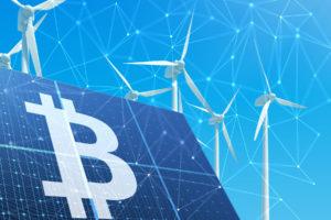 bitcoin mining is green