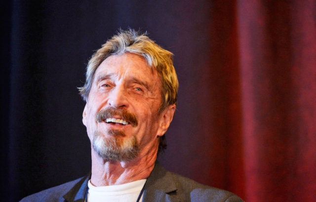 John McAfee Drops Bitcoin, Calls it 'Ancient Technology'