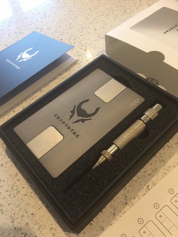CRYPTOTAG Zeus Starter Kit