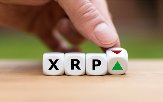 XRP volume low than EOS