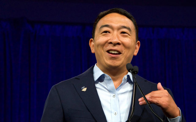 Andrew Yang POTUS candidate crypto