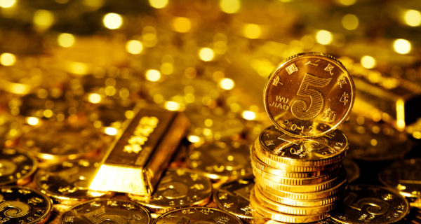 china cryptocurrency gold backed