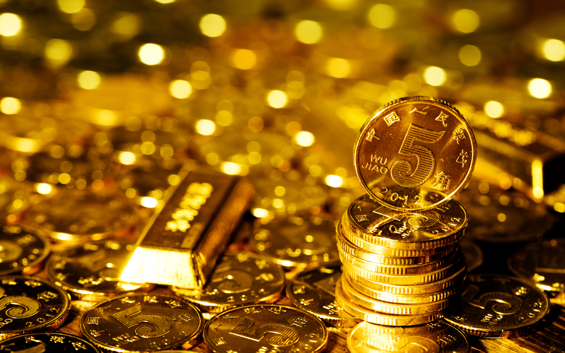 china cryptocurrency gold