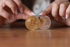 ether, bitcoin