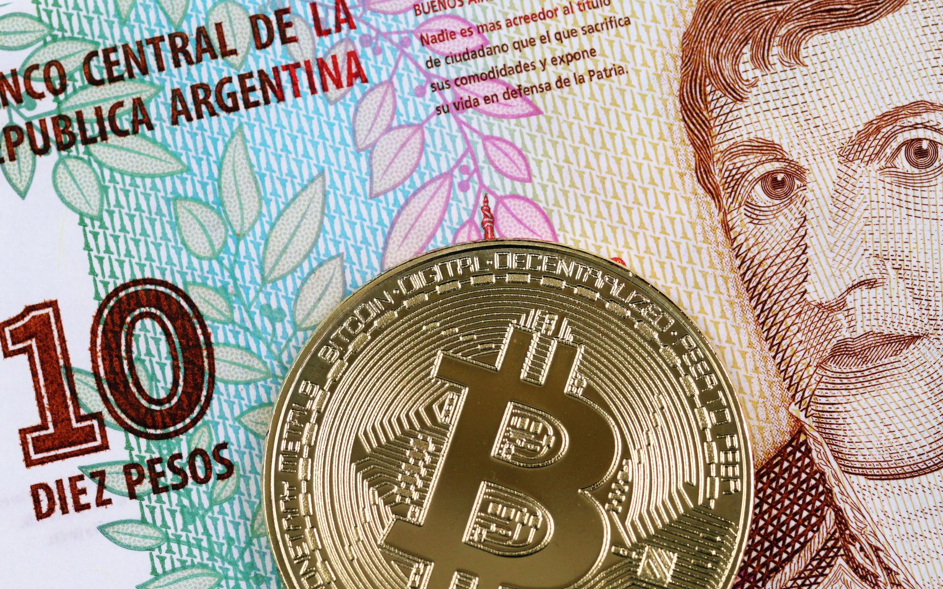 Bitcoin price hits $12,000 on Argentina exchange
