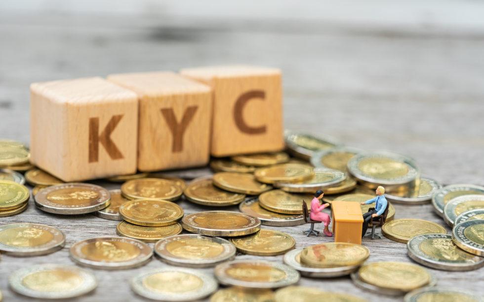 KYC sur l'échange de crypto