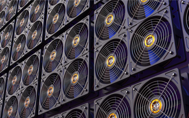bitcoin mining rapid growth