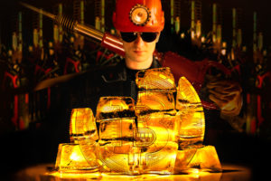 bitcoin blockchain gold miners