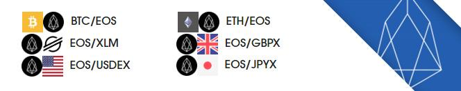 EOS now on etoroX exchange