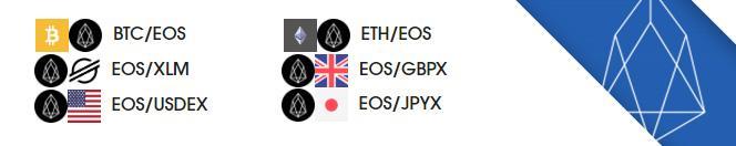 EOS now on etoroX exchange