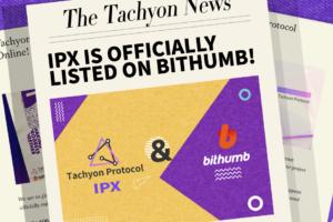 tachyon protocol listing on bithumb