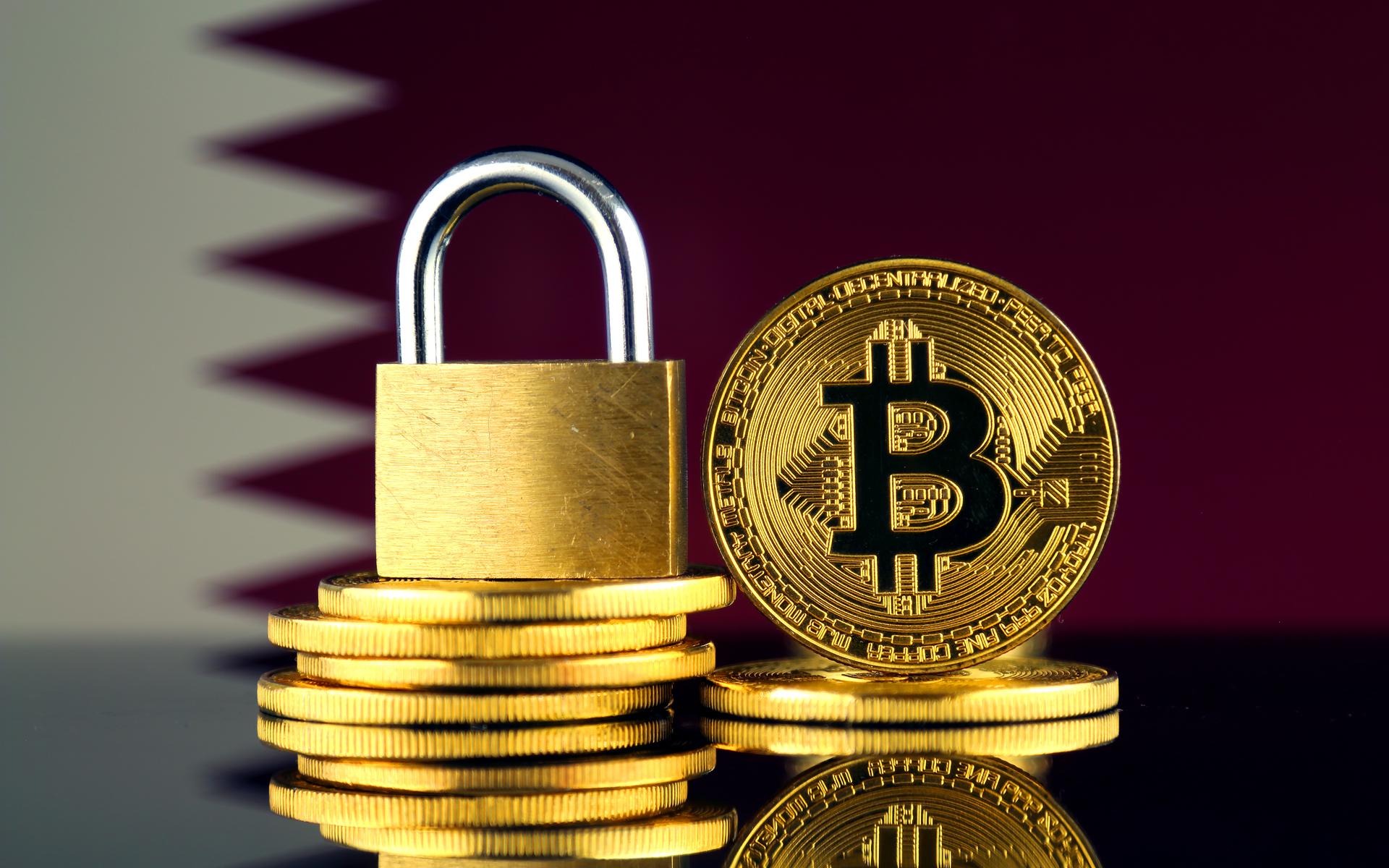 qatar bans crypto