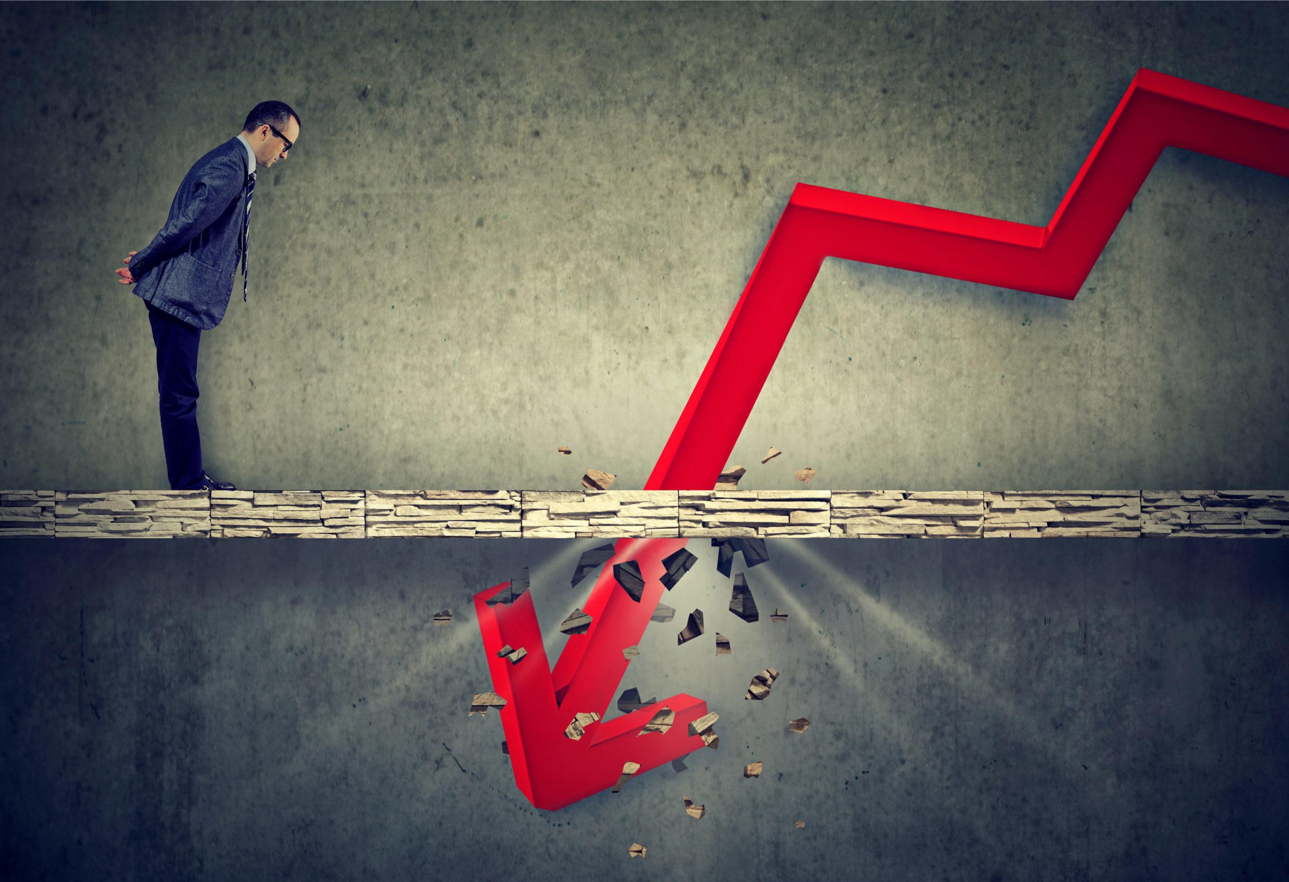 stock market crash bitcoin scale