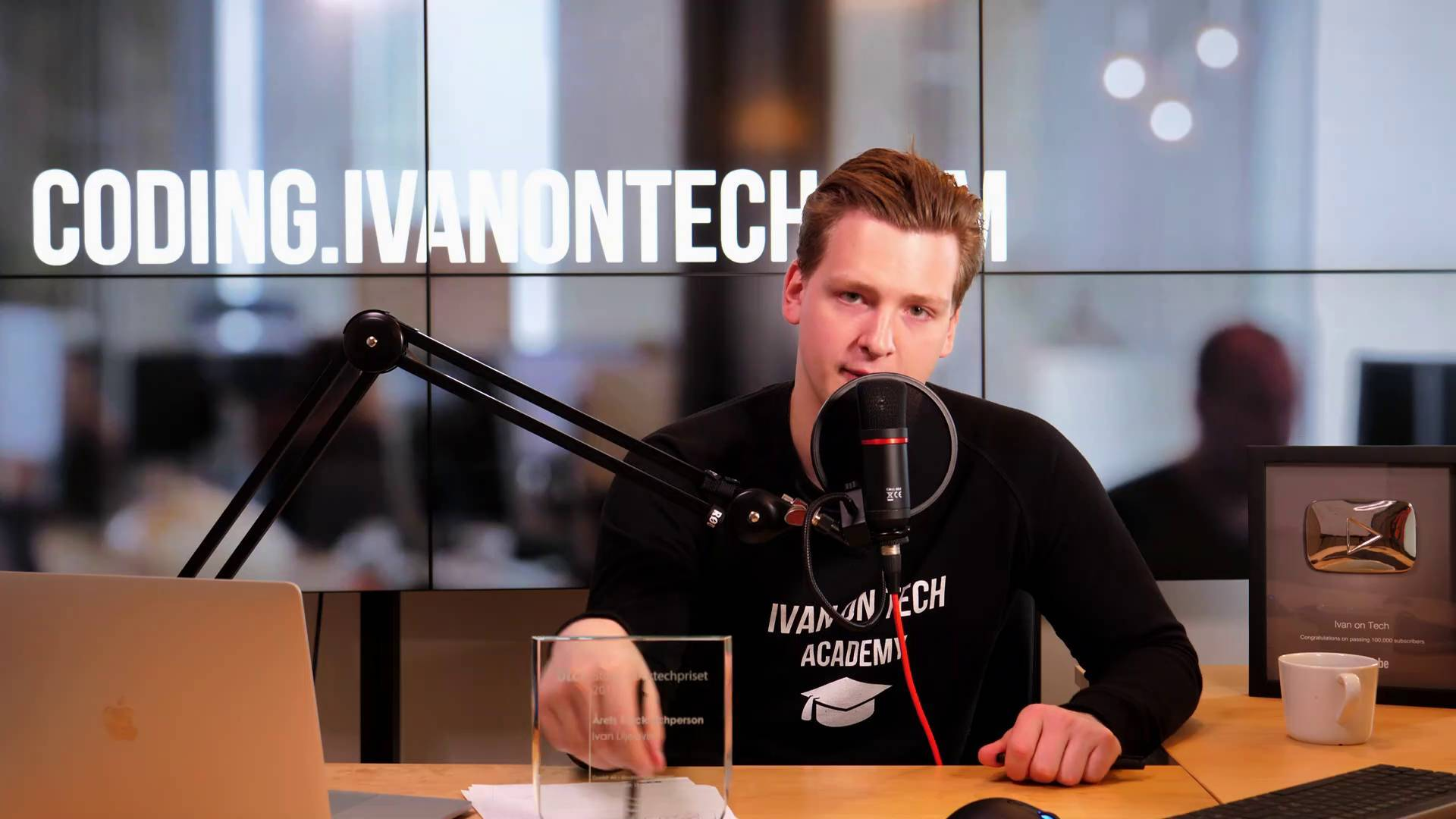 Ivan on Tech crypto influencer