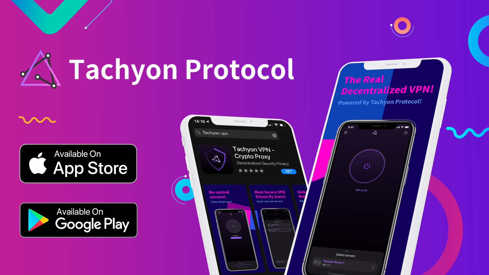 Tachyon VPN Is Now Available on App Store and Google Play!