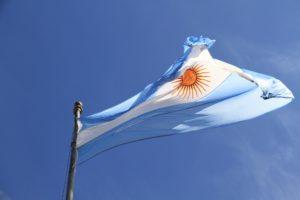 bitcoin argentina flag