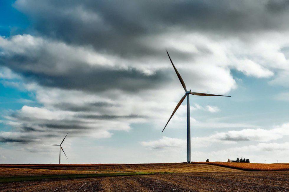 wind power BTC mining