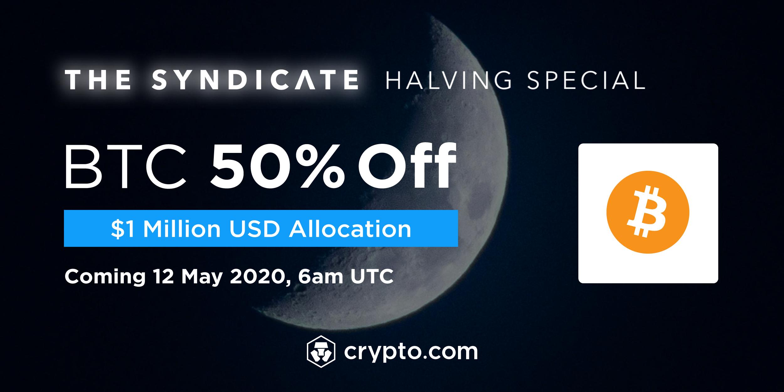 Crypto.com BTC Halving Special