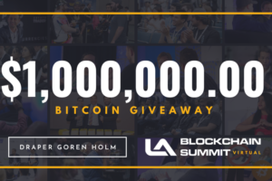 LA Blockchain Summit is giving away $1 million in Bitcoin