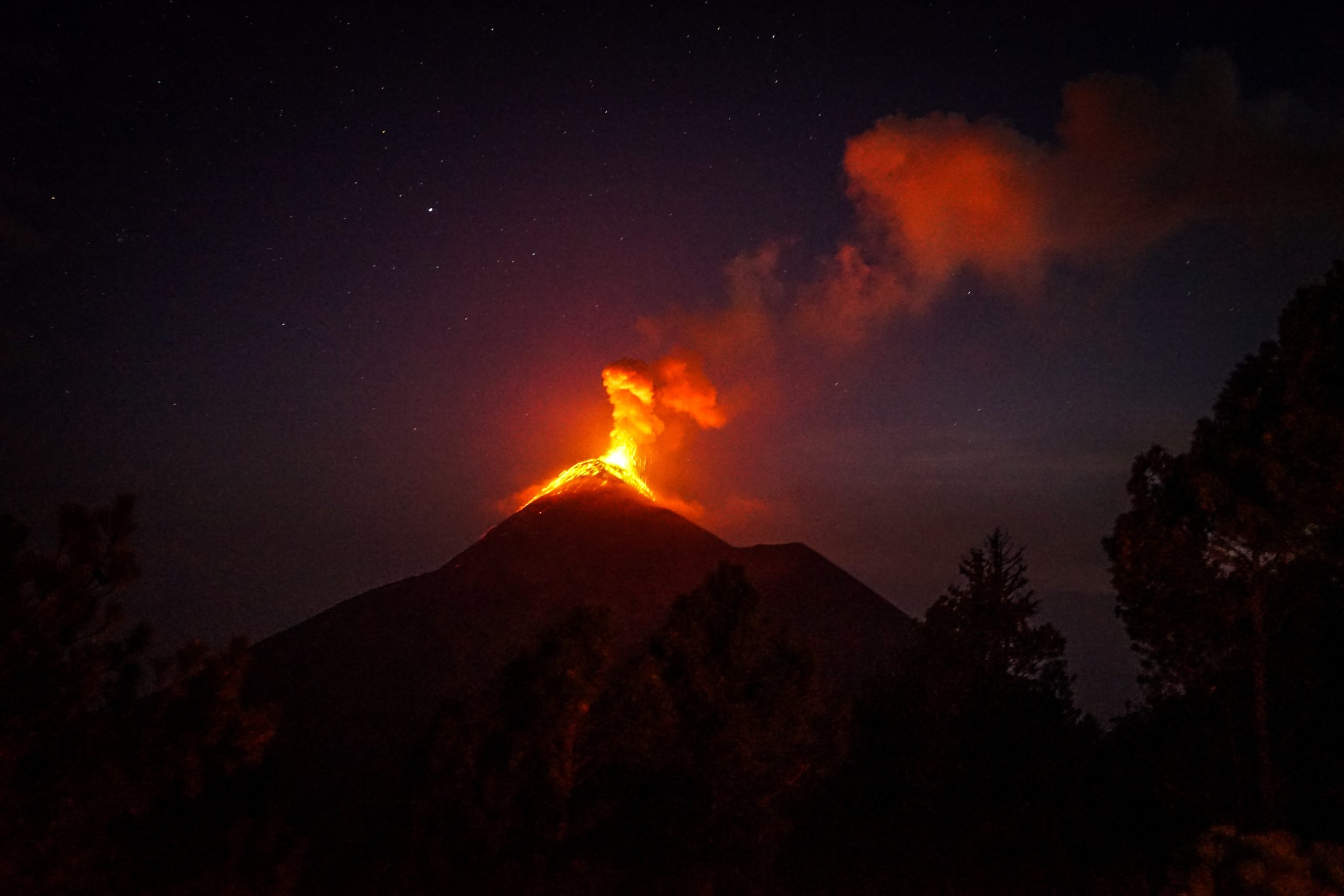 volcano featured image for BItcoin article
