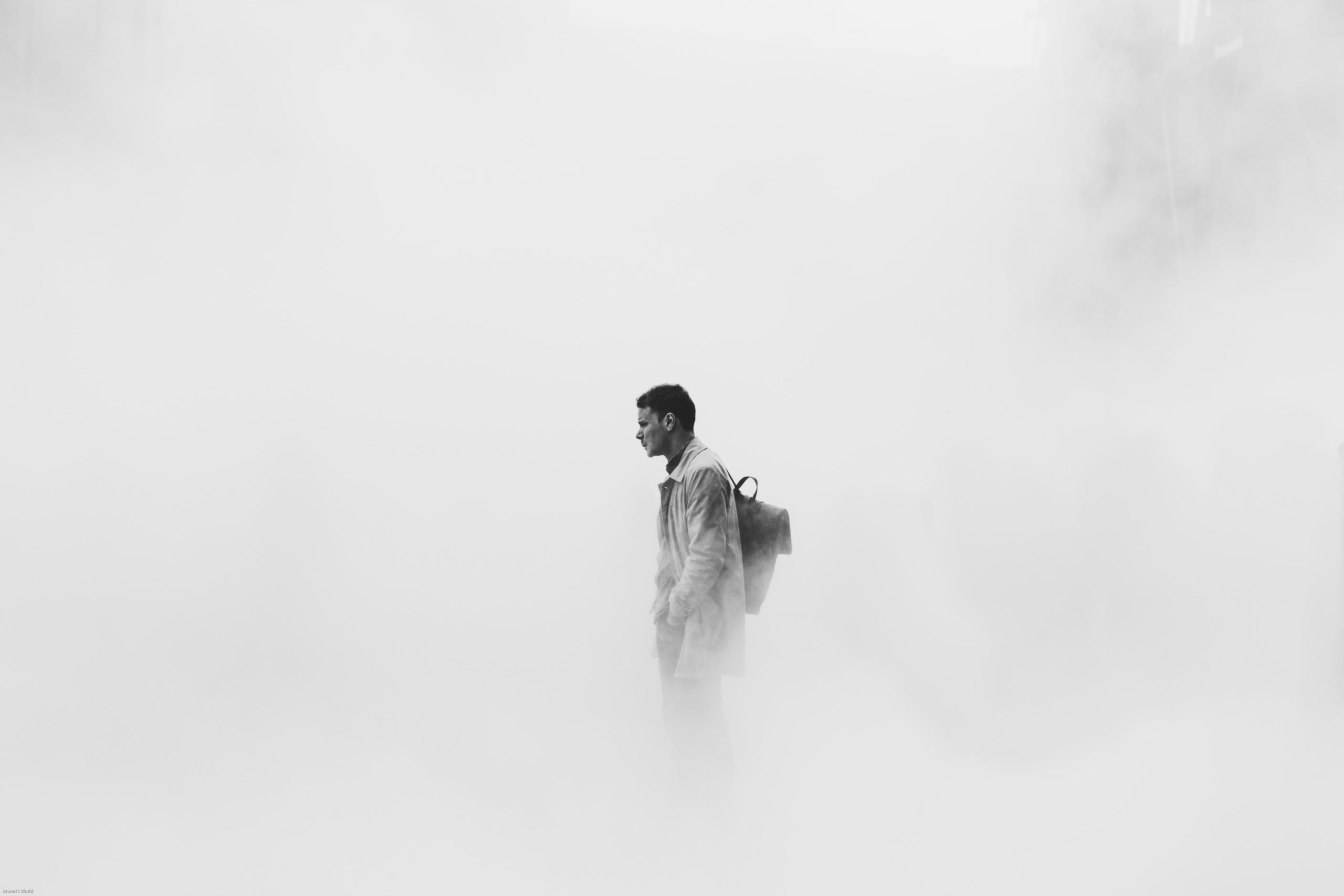 man in fog featured image for XRP article