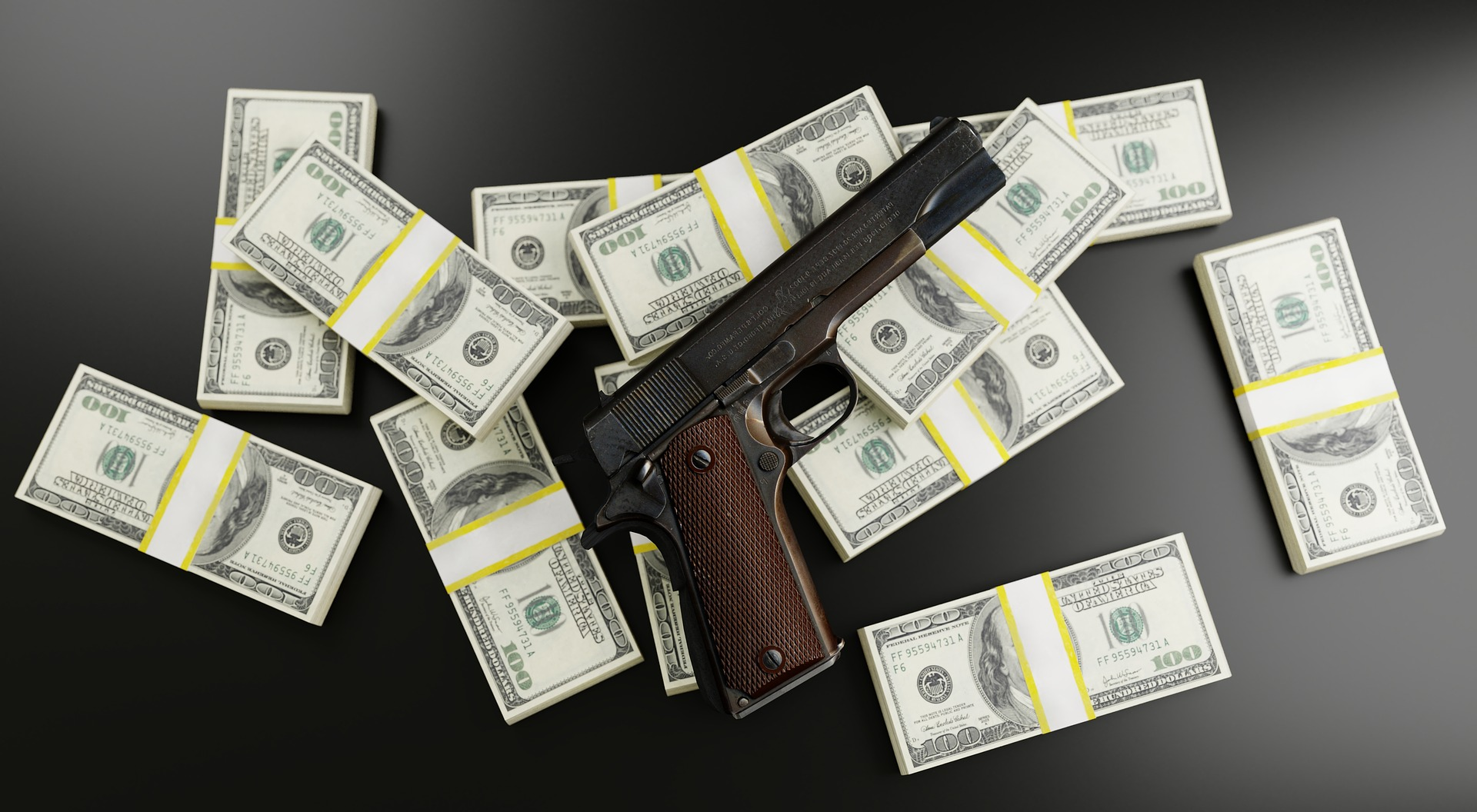 bitcoin ammo money gun