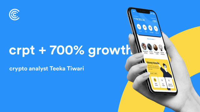 Renowned Crypto Analyst Teeka Tiwari Positively Highlights Crypterium's CRPT Token, Calls for 700% Growth