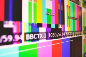 Television screen featured image for Bitcoin piece