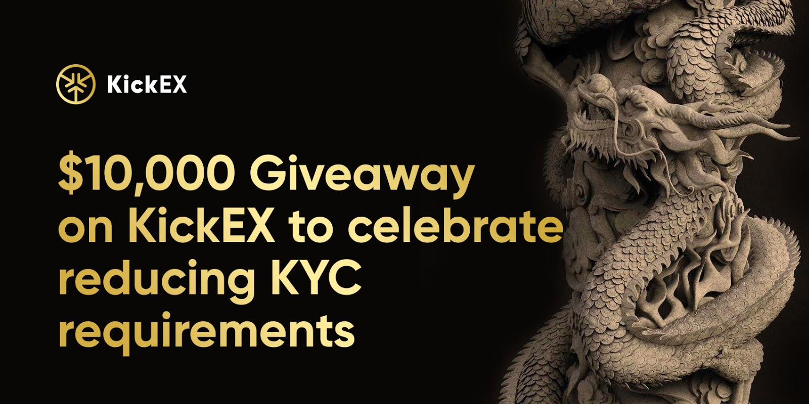 Kickex giveaway for reduced kyc