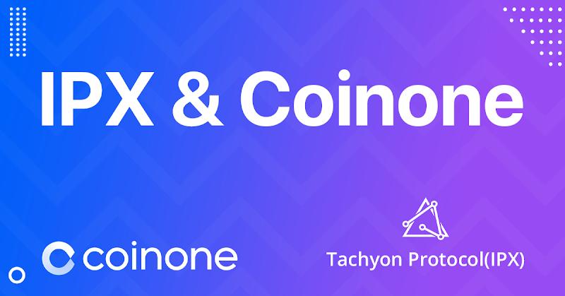 tachyon IPX Coinone Listing