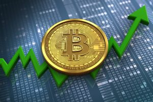 bitcoin to the upside