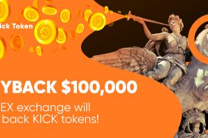 kick cryptocurrency token buyback