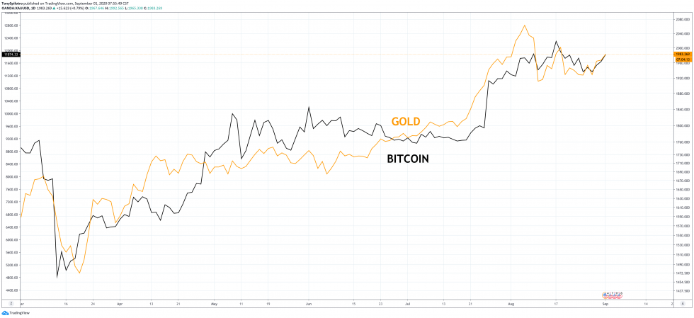 bitcoin gold comparison
