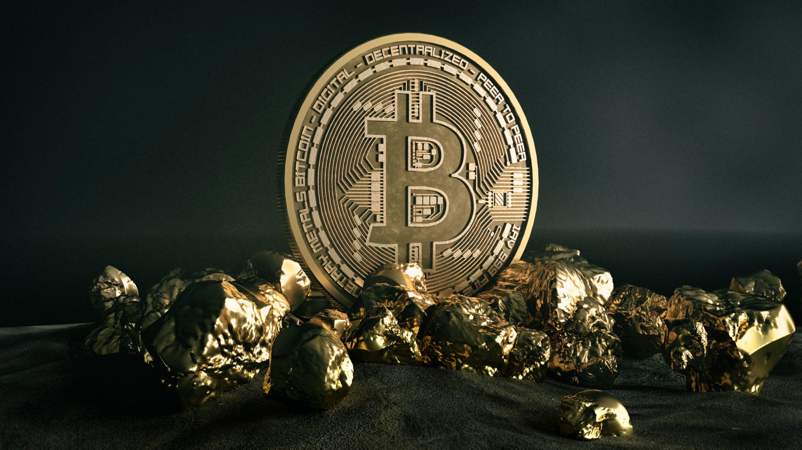 bitcoin gold price peak