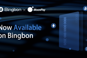 Bingbon Expands Fiat Capability with MoonPay Partnership