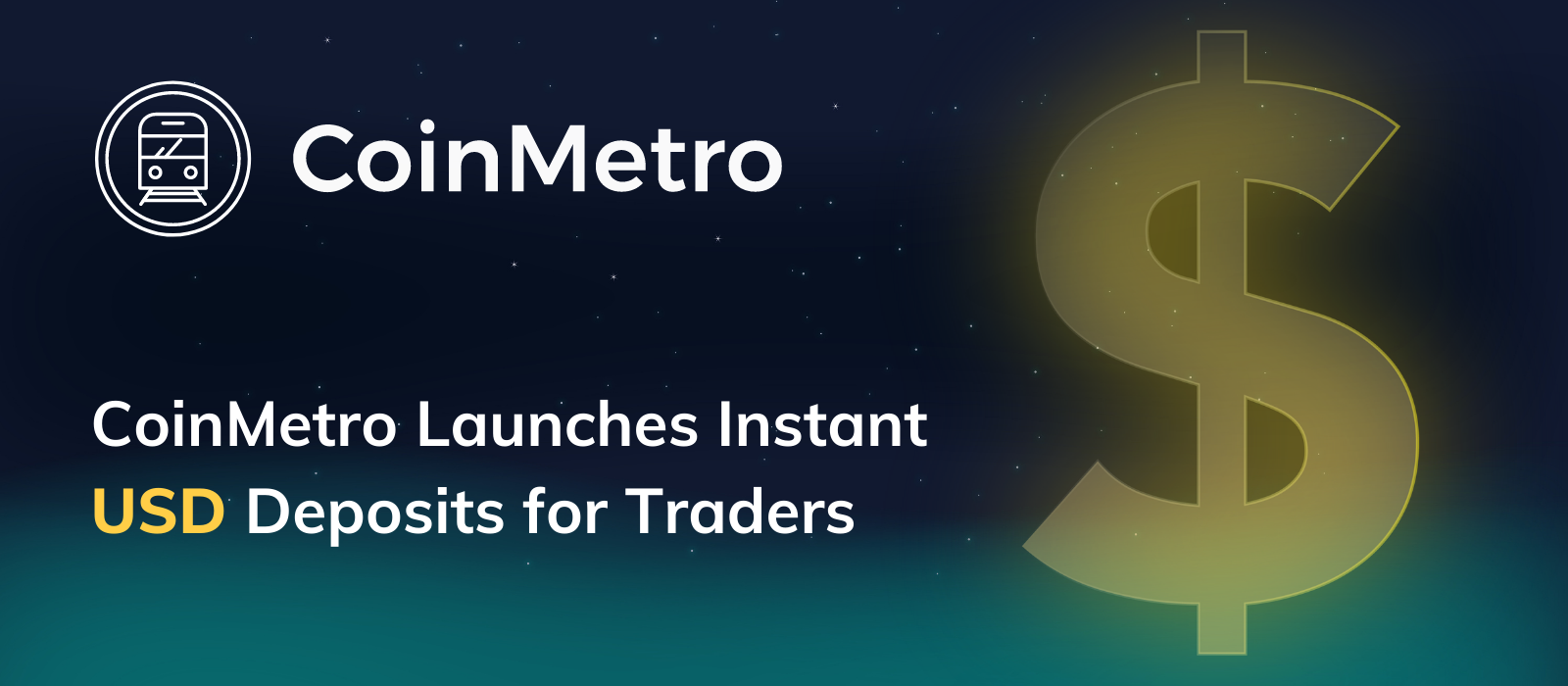Welcoming USD to BTC Transactions on CoinMetro