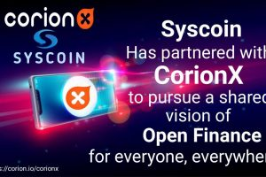 CorionX and Syscoin Join Hands to Drive Stablecoin Adoption