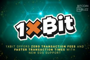 1xBit Offers Zero Transaction Fees and Faster Transaction Times with new EOS Support