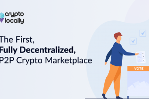 CryptoLocally Becomes the World's First Fully Decentralized P2P Exchange