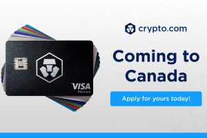Crypto.com Visa Card is shipping to Canada