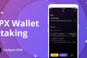 tachyon protocol IPX Wallet Staking PR