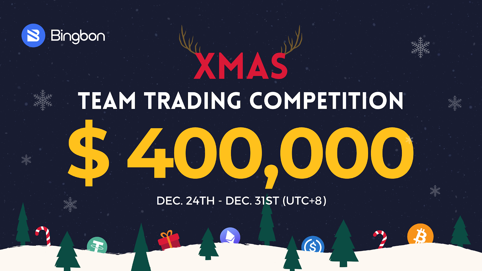Tis the Season to Trade: Bingbon Gears Up For Xmas Trading Contest