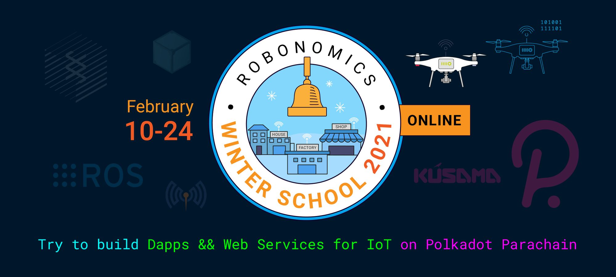 Robonomics Winter School 2021 Master Classes And Lectures Open For Attendees