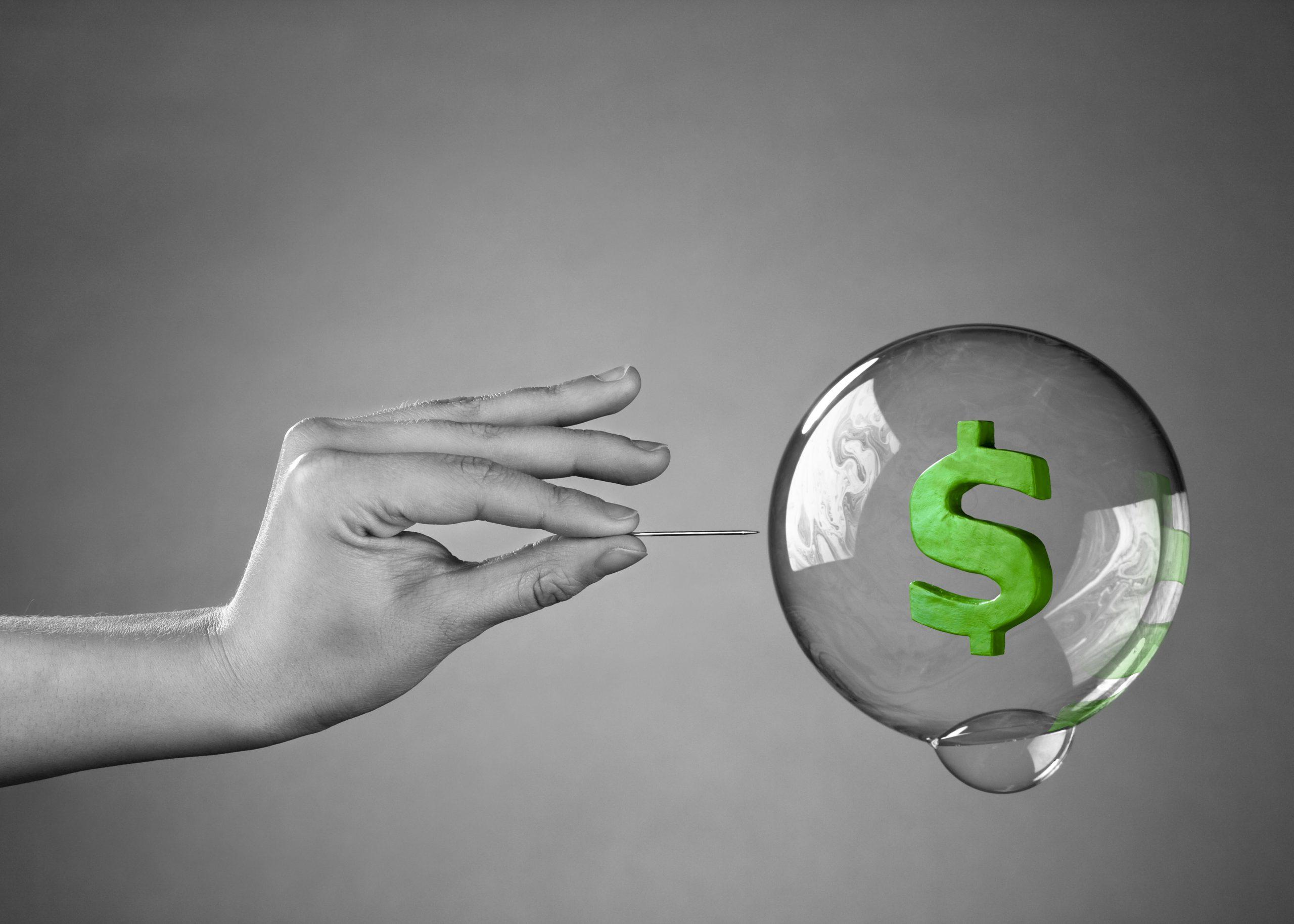 bitcoin stock market bubble