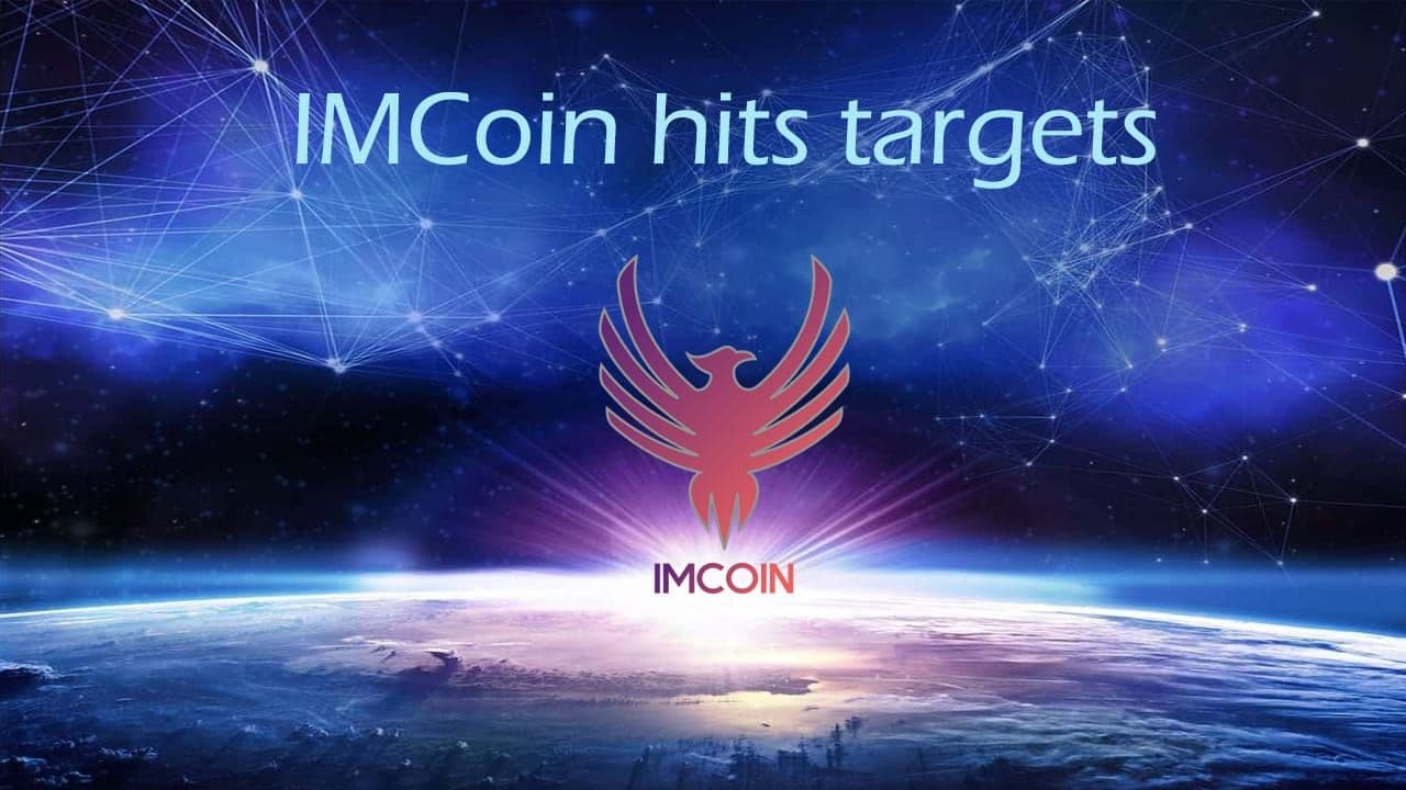 IMCoin exceeds projections and meets targets