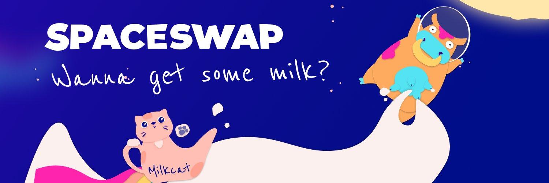 SpaceSwap, MILK2 x Binance Smart Chain