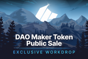 DAO Maker Token Public Sale Will Be Completed with An Exclusive Workdrop