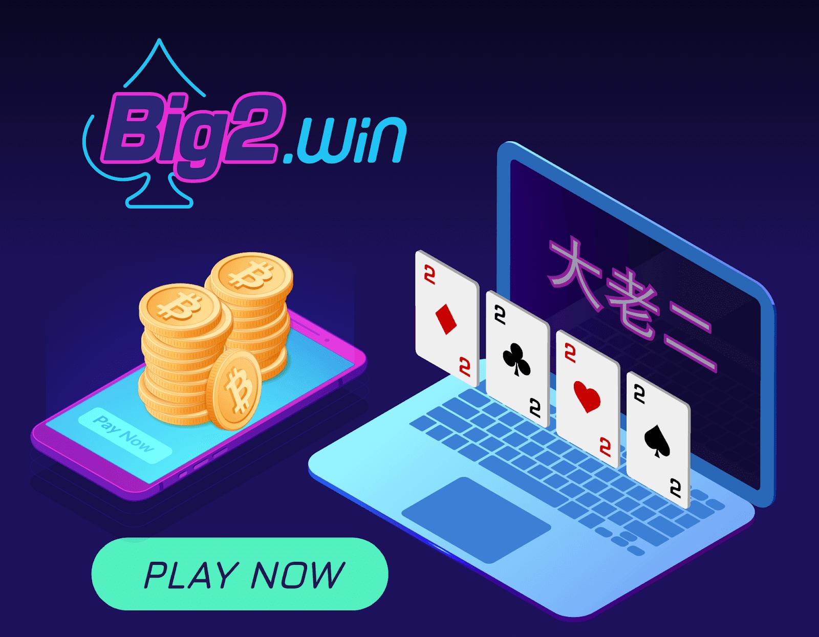 Win Big with the Crypto Card Game Big 2 大老二